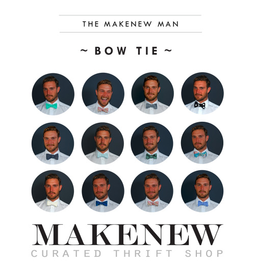 Bow Ties for the By's! Our friends at Makenew are releasing their very first collection of beautiful bow ties and pocket squares tonight at their location at 1526 Queen St.  (2nd Floor!) Drop by the event tonight from 7-9pm and check out these locally made bow ties and to check out the newest menswear shop in town Makenew Man! Let's get dressed up! Hope to see you there!