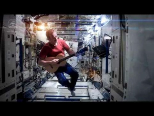 "This performance of David Bowie's ""Space Oddity"" by International Space Station Commander Chris Hadfield has been seen and shared by everyone and their mother — seriously, your mom has probably already written about this on Facebook — but it is too wonderful to not share again. via Canadian astronaut Chris Hadfield's David Bowie cover is an important moment for science"