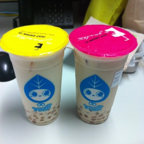 A-GAN Milk Tea! The creamiest milk tea ever!