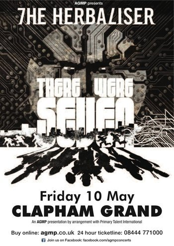 The Herbaliser Band with guest MC Ghettosocks- Clapham Grand, Friday May 10th 2013