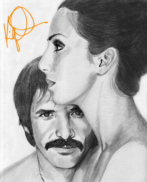 SONNY & CHER PLEASE, DO NOT REMOVE CREDIT!! I worked too hard on this portrait! That is all. Kaliq Ali Omar