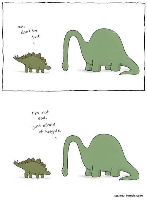 Brachiosaurus have it so rough. - Imgur
