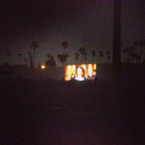 paigegeffen:  #cinespia #americanpsycho #patrickbateman (at Cinespia @ Hollywood Forever Cemetery)  4 Days left people!http://kck.st/Zg9doF