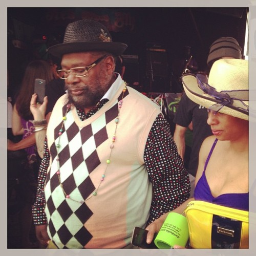 George Clinton in the house at the @hightimesmag #doobieawards  (at Red Eyed Fly)