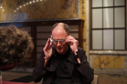 cyberpunkculture:   William Gibson, Google Glass