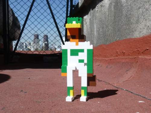 flipflopflyball:  Lego ballplayer No.2: Dennis Eckersley