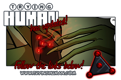tryinghuman:  Trying Human has updated! http://www.tryinghuman.com ✰ Facebook ✰ Twitter ✰ Store ✰