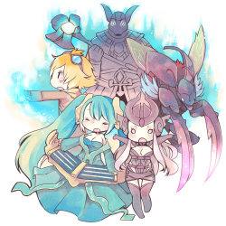 summonerzawnbu:  my friend's team by ~tunako