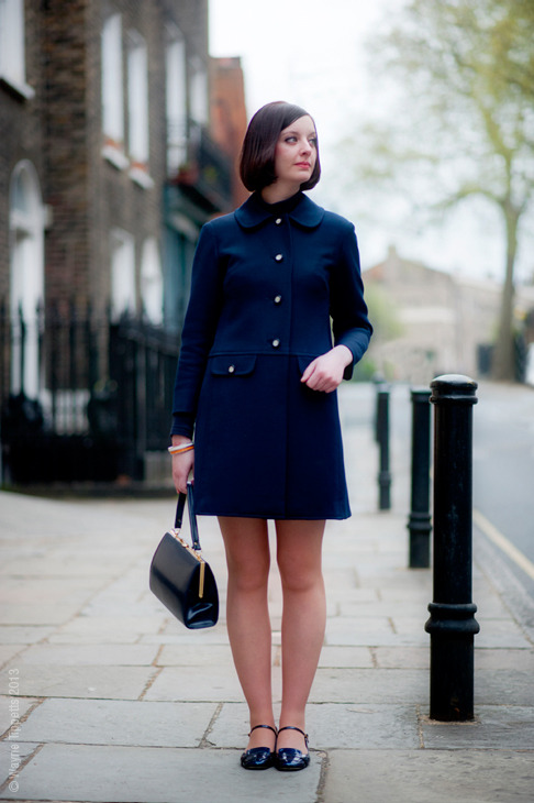 calivintage:  (via Street Style Aesthetic » Blog Archive » London – Erica)