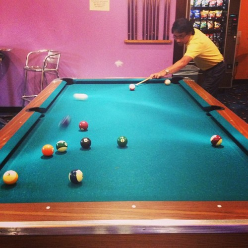 Pool at boomtown🎱 #dadisprettyraw #orijustsuck