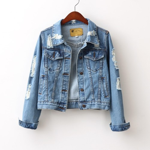 tbdressfashion:  jeans jacket