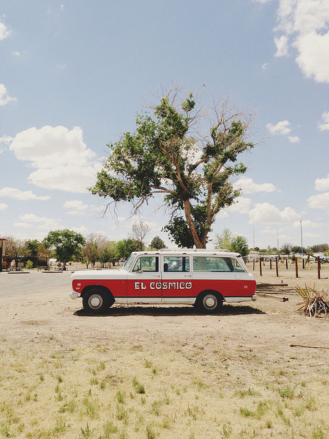 kevinruss:  El Cosmico. Marfa, Texas on Flickr.