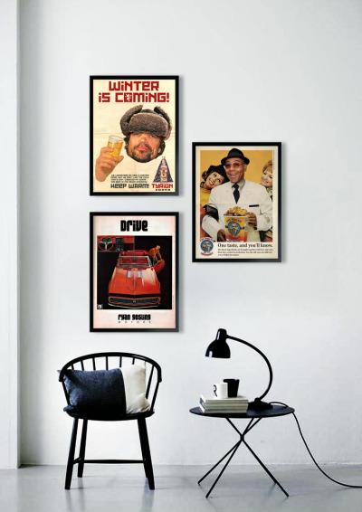 #ads_libitum, #wall_art, #deco, #poster, #vintage, #ad, #retro, #got, #breaking_bad, #drive
