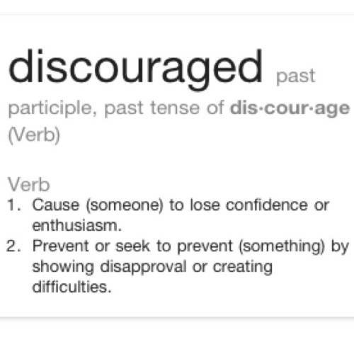 #discouraged #alone #scared #change #photochallenge  Day 8: Discouraged. I feel this way if I think about being alone during this big change.