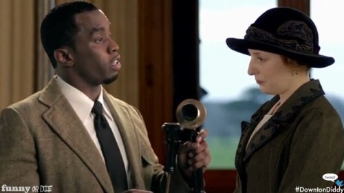Watch P Diddy Turn Downton Abbey into Downtown Diddy