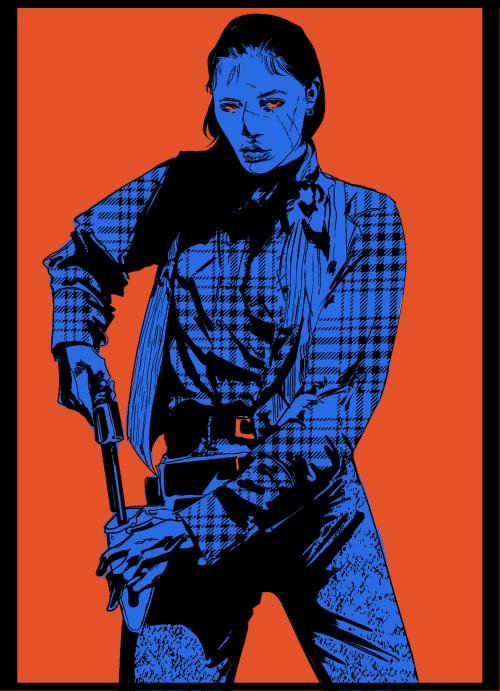 madradiohead:courier 6 #fallout#art#gun cw#beautiful