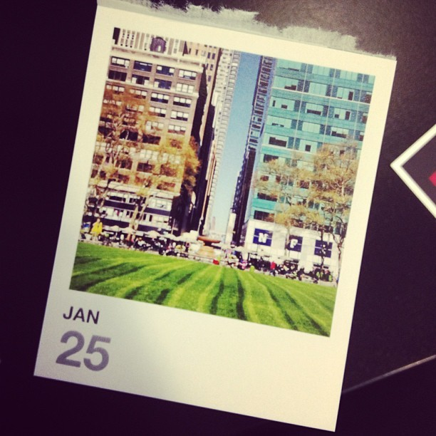 Our Instagram calendars from @printstagram! Yes!