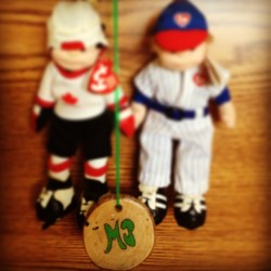 My first two passions growing up and my Lake St. George emblem. #Baseball #Hockey #Grade8OvernightTrip