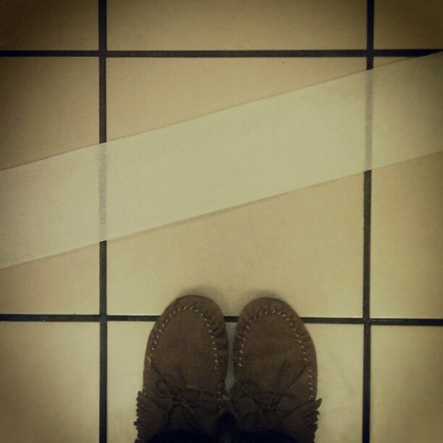 #fromwhereistand #latergram was about to leave the stall when the lady in the stall next to mine dropped a roll of toilet paper and it rolled across my stall right into the other stall LOL