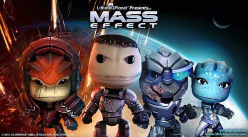 -ryan:  LittleBigPlanet 2 is coming out with Mass Effect themed DLC!  I want that Sackboy Garrus.