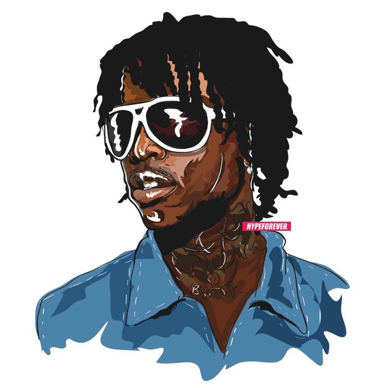 @chiefkeef artwork by @hypeforever  email for inquiries :: info@hypeforever.com