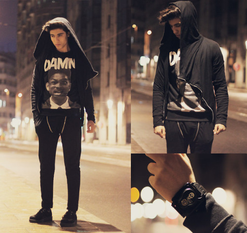 lookbookdotnu:  Damn  (by Ayoub Mani)