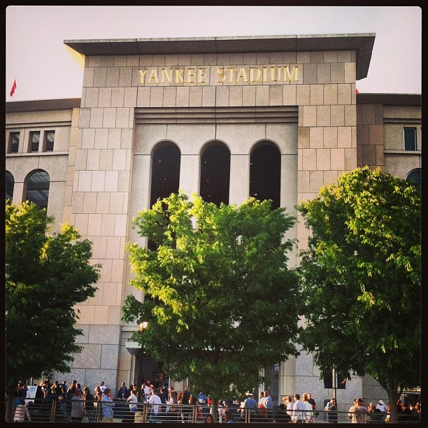 Time to make some new memories. #YankeeStadium