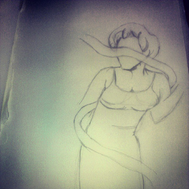 Starting a new drawing, after its done its going to be sick..XD