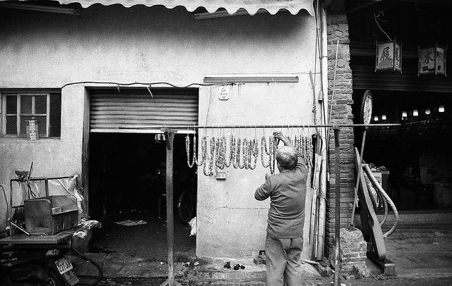 Homemade sausages on Flickr.Nikon FE, Arista EDU Ultra 200