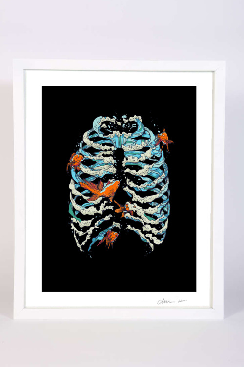 Fish Bone Print by Huebucket http://etsy.me/XWFW0G