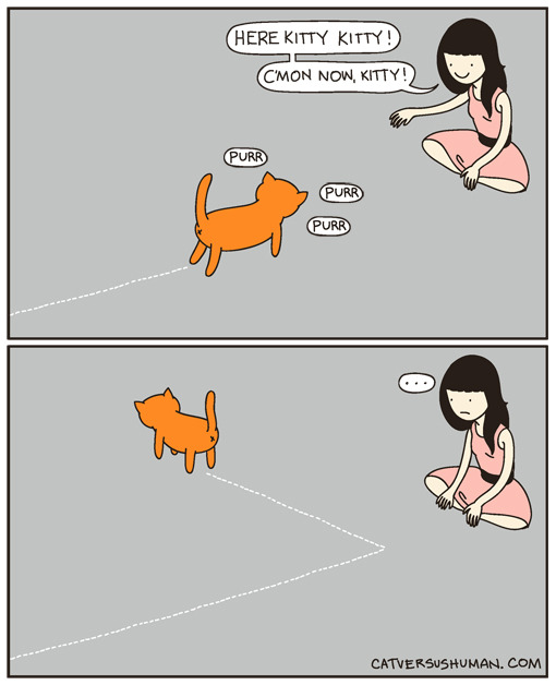 Comic by ©cat versus human