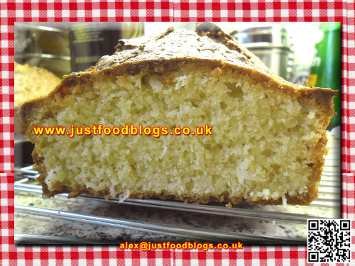 Coconut Cake - My own recipe.  Made this last night.  Absolutely deelish! Click on the image for the bigger picture,