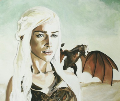 gameofthrones:  Khaleesi, Mother of Dragons by Anne LaClair