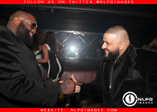 "Rick Ross and DJ Khaled http://bit.ly/148xn5R - Throwback Thursdays #NLPG NLPGimages.com ""We're Everywhere You're Not"""