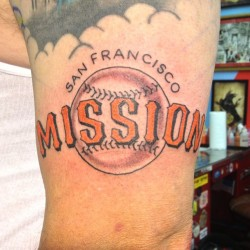 #sftattoo #mission  (at Goldfield's Tattoo Studio)