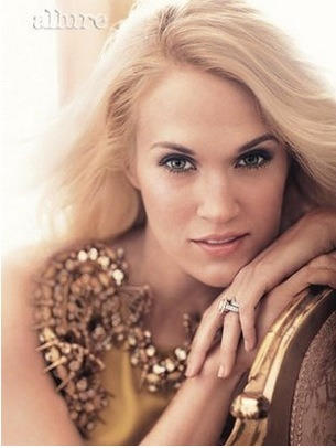 Carrie Underwood is in the latest issue of Allure magazine and apparently she's already stirring up some conversation by stating that, in regards to gay marriage: yes, she is a Christian but she is in favor of acceptance and it is not her place to judge.
