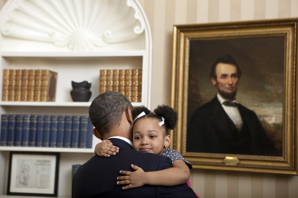 """It's Wednesday. Need a hug?"" - @BarackObama"