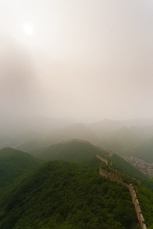 touchdisky:  Great Wall of China, China by Sebastian Johnke   Thinking of you today