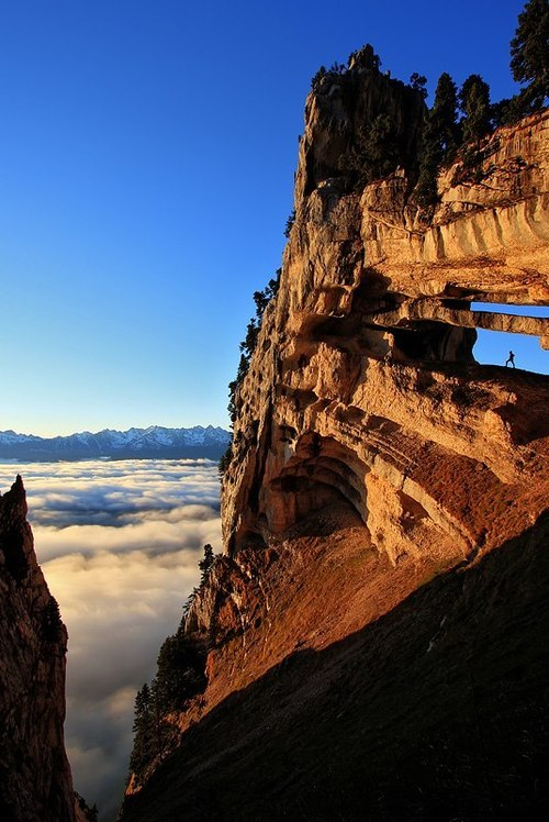 bluepueblo:  Chartruese Arch, The French Alps photo via besttravelphotos