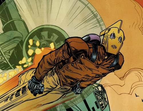 kingscomics:  Rocketeer: Hollywood Horror by Roger Langridge and J. Bone