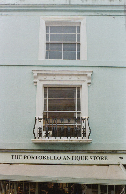 lafleurdesmurailles:  The Portobello Antique Shop. by Petrana Sekula on Flickr.