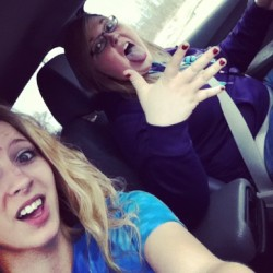 Lunch date with Ashley(: #goodday #jamminout #loveher #girltime