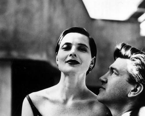 phytos:  David Lynch & Isabella Rossellini, photographed by Helmut Newton, (1988)