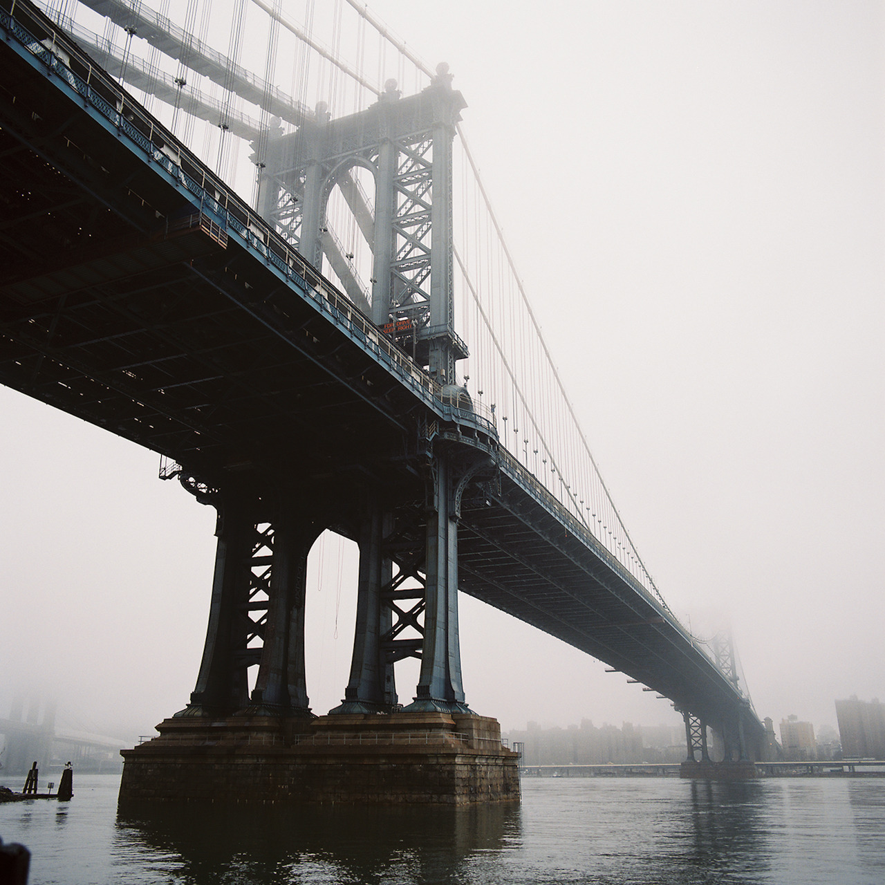 Manhattan Bridge, January 2013