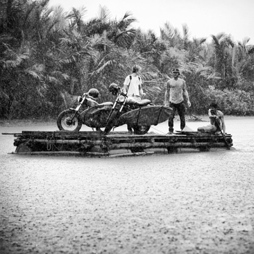 bikes, boards, rafts and rivers…
