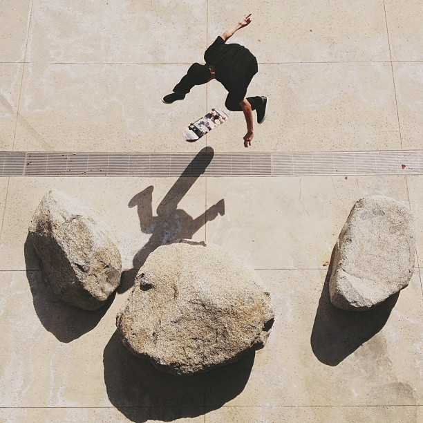theskateboardmag:  @georgeramirez, 360 flip. #Instacrops photo by: @fernandocastilllo. Submit your #instacrops photos with your Instagram username to instacrops@theskateboardmag.com.