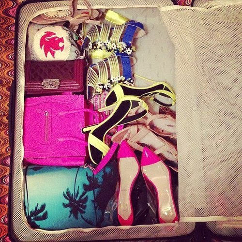 glamtastic:  My dream suitcase?