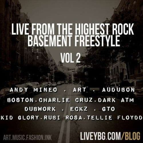 Very Legendary - Live From The Highest Rock: Basement Freestyle vol 2 - check it out at Liveybg.com