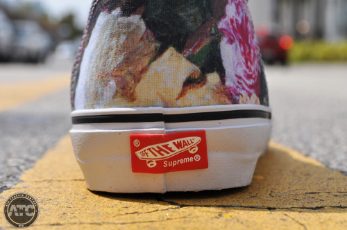 Supreme Chukka Vans now available here at ATCMIA. Call for Sizing & Pricing. 305-531-2000