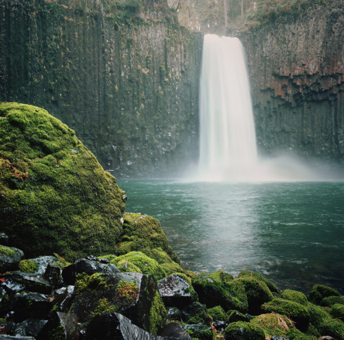 abiqua falls, revisited by Danielle Hughson